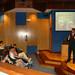 Xov, 25/03/2010 - 18:45 - Fernando Manzano, experto en inteligencia del grupo Interligare, durante la sesión que impartió a los participantes el programa Aulas de I+D, organizado conjuntamente por Tecnópole y la empresa Intellectia Bank. Tecnópole, 25 de marzo de 2010.