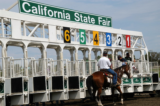 Cal Expo Starting Gate Flickr Photo Sharing