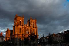L'église Notre Dame à Vitry-le-François - sunset