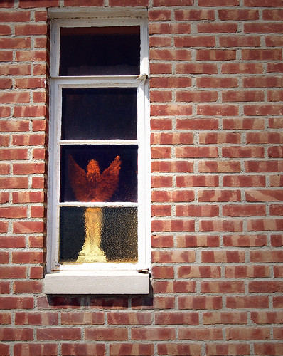 Angel in the Window by piketanya
