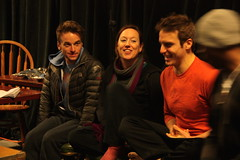 Wed, 2014-03-05 08:02 - Behind-the-scenes pictures of rehearsals for our adaptation of Dorian.
