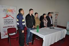 Кликни за фотогалерија - Основачко собрание на ОО на ГРОМ – Дебарца