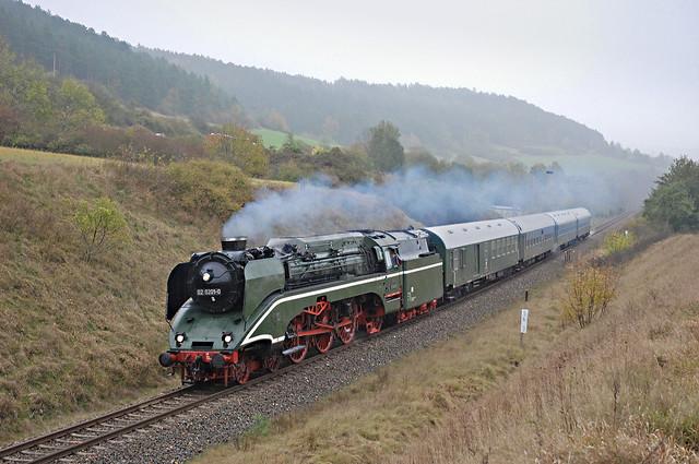 40. 02 0201 met DPE 31978 van Meiningen naar Eisenach Pbf voor Walldorf 23-10-2009 (Foto Bart van 't Grunewold).jpg