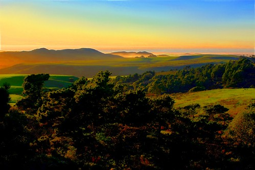 Sunset on Pt. Reyes by dred707