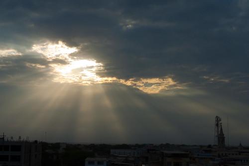 sun sol clouds sunrise heaven himmel wolken perú amanecer cielo nubes sonne inti piura