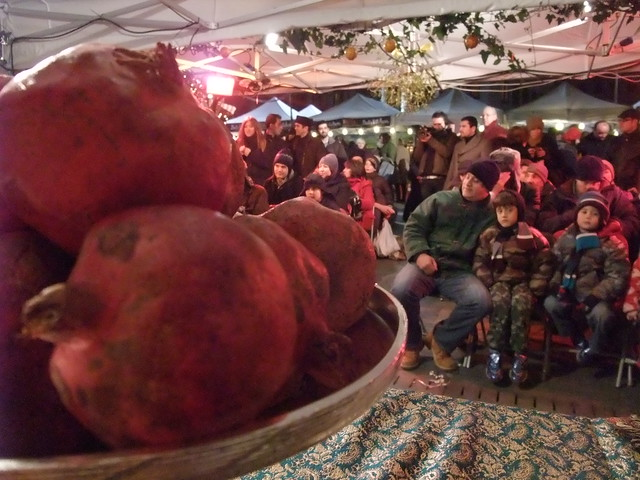 Taste the exotic azerbaijan slow food london xmas mark for Azerbaijani cuisine london