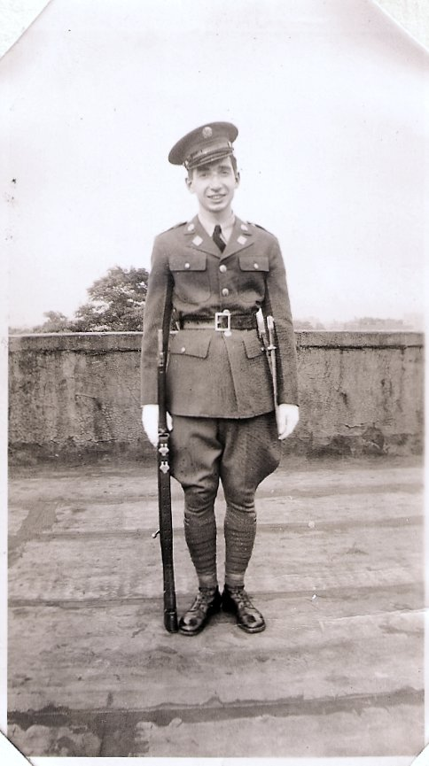 John Massimo in uniform, c. 1939