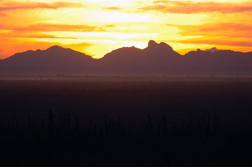 sunset picachopeak