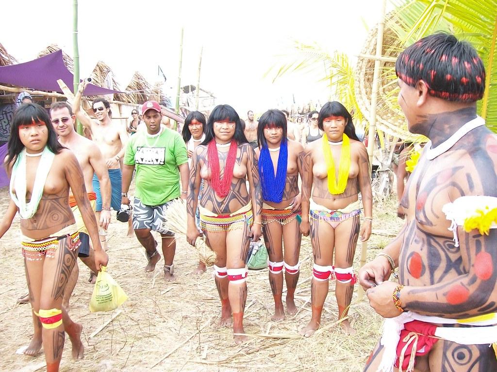 Here Yawalapiti tribe women nude recollect