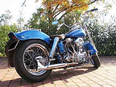Harley Davidson FL  1958