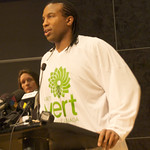 Georges Laraque Joins Green Party