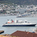 MV ORION returns to Wellington