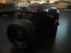 Minolta X-300s by Mr.FoxTalbot