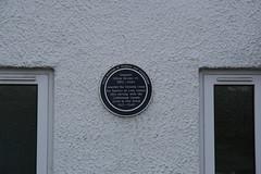 Photo of Oliver Brooks blue plaque
