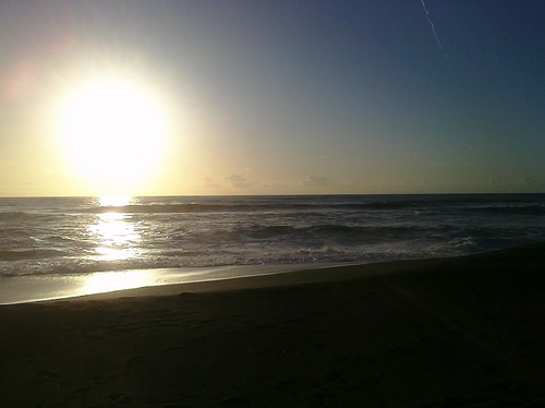 just in time to see the sunset in pacifica w/ @palmrieder