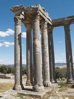 Colonnade of the Temple of Caelestis