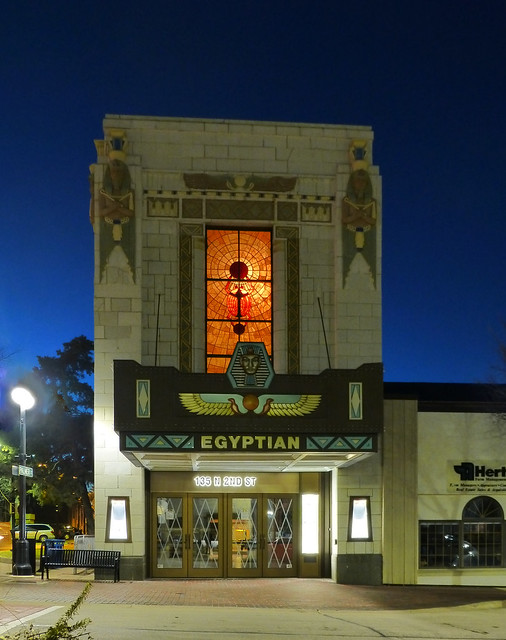 DeKalb, IL Egyptian Theater, Panasonic DMC-ZS19