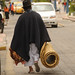 Returning Home With a Mat and Chicken - Otavalo Market, Ecuador