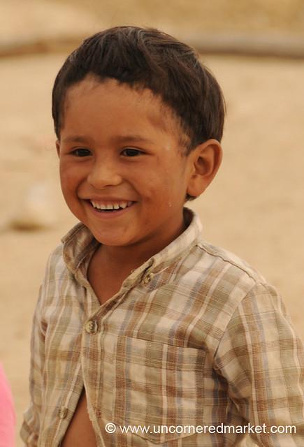 Bowl Cut and a Smile - Tarija, Bolivia