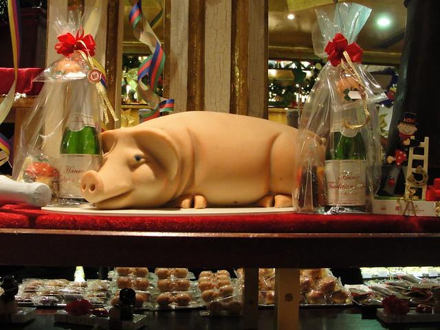 Marzipan Pig