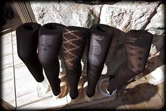 brown, limb, black, tights,