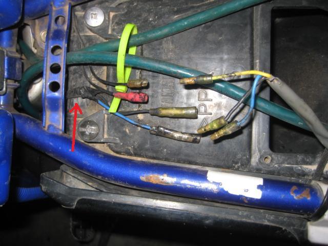 Wr400 Wiring Prob  Pic - Wr 400  426  450
