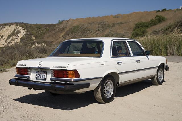 1980 mercedes 300sd turbo diesel