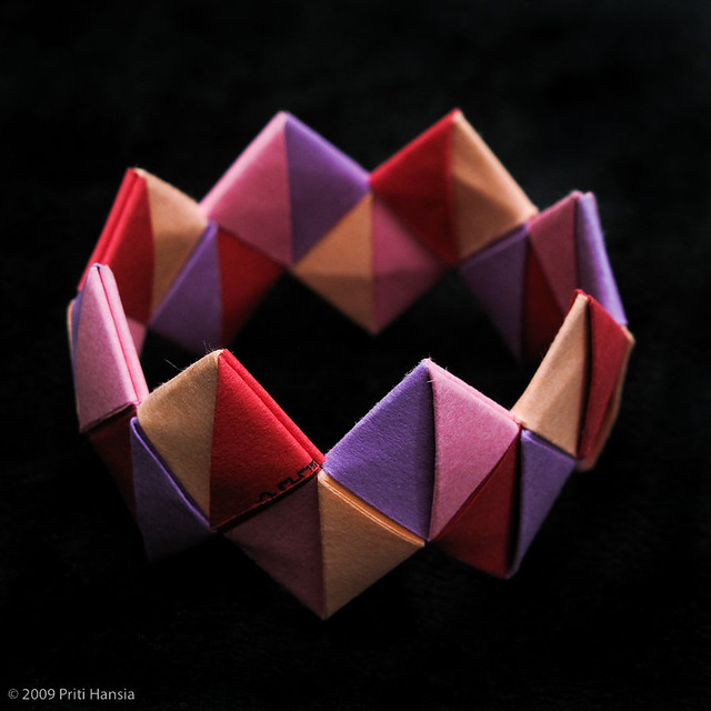 origami bracelet flickr photo sharing