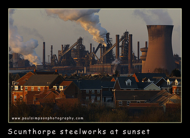 Scunthorpe Steelworks Flickr Photo Sharing