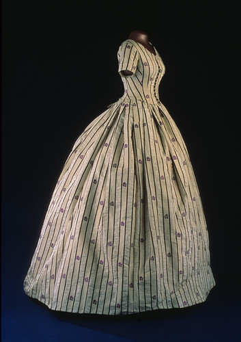 Mary Lincoln's Silk Dress, 1861