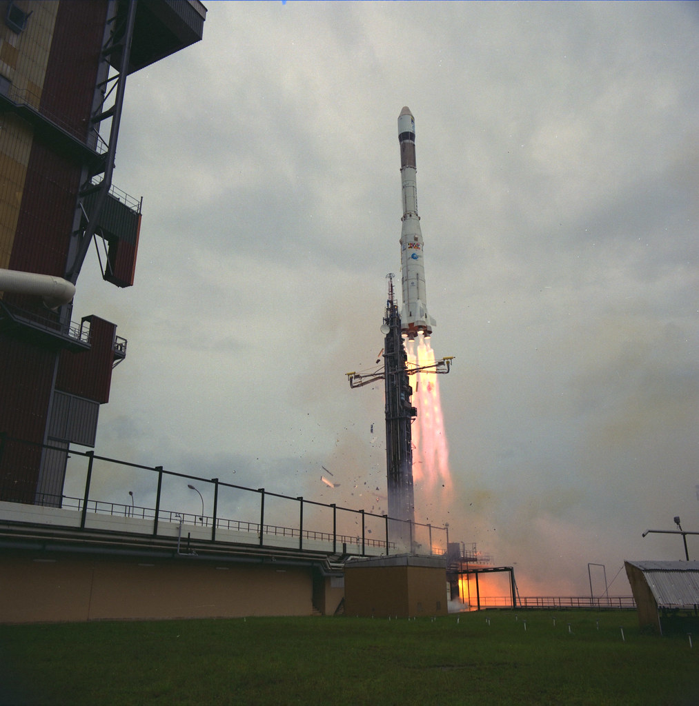 Launch of Giotto
