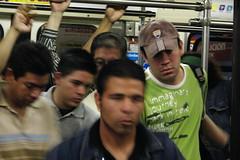 En el tren Ligero