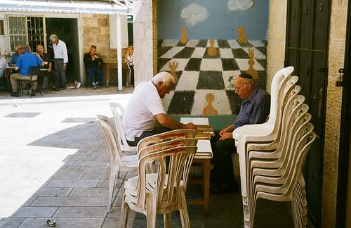 Semi-private backgammon.