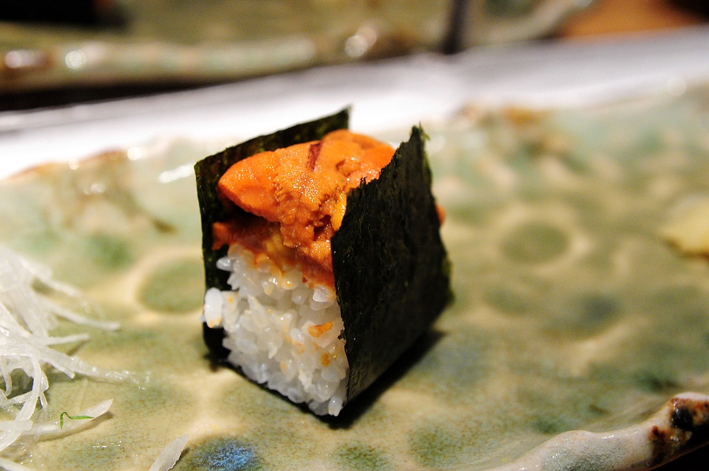 筌壽司-海膽壽司