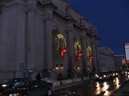 Union Station at Christmas