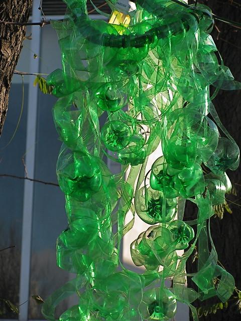 Plastic bottle art a gallery on flickr for Plastic bottle art
