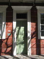 Esplanade Girod House Center Door