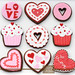 Valentine's Cookies by Glorious Treats