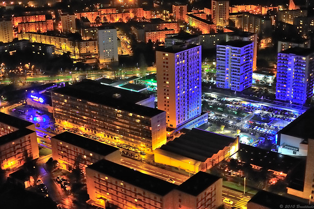 Brest City : Bellevue by Night