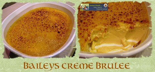 Irish recipes: Bailey's Creme Brulee
