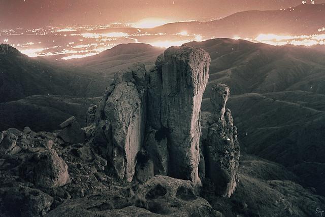 La Bufa de noche.  Guanajuato, Gto, Mexico (2000)