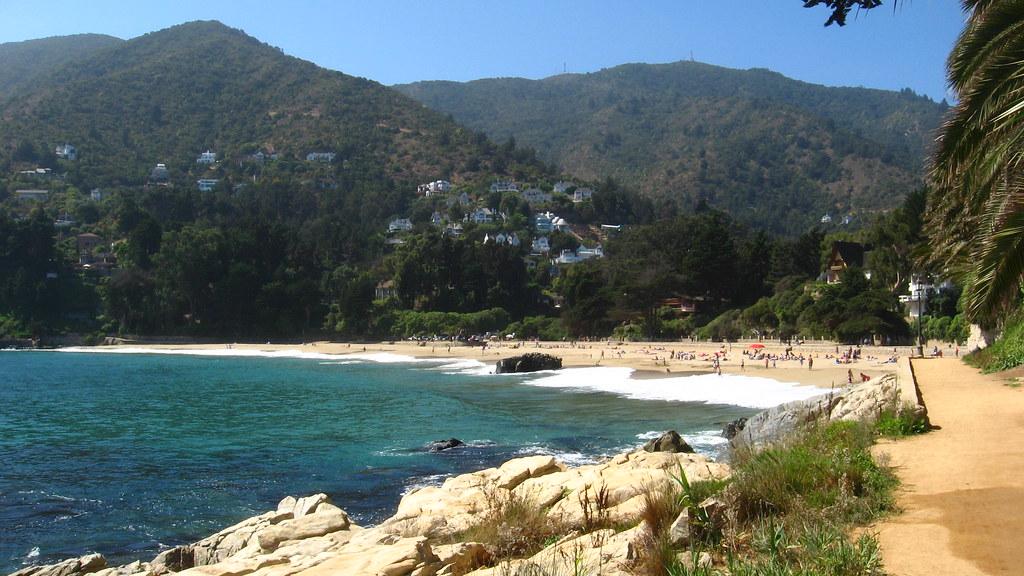 Zapallar beach