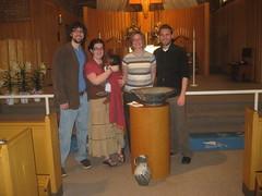 Milo's Baptism