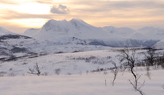 Mountains south of Tromsø