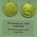 1897 Monedas Años 1850-1899  Museo Numismática Banco Central San José de Costa Rica 22