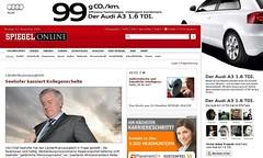Mockup - Social Targeting und Advertising am Beispiel von SpOn und Audi