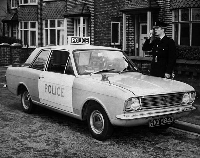 Panda Patrol Car 1960s