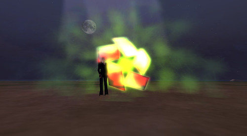my OSGRID particle spitting logo