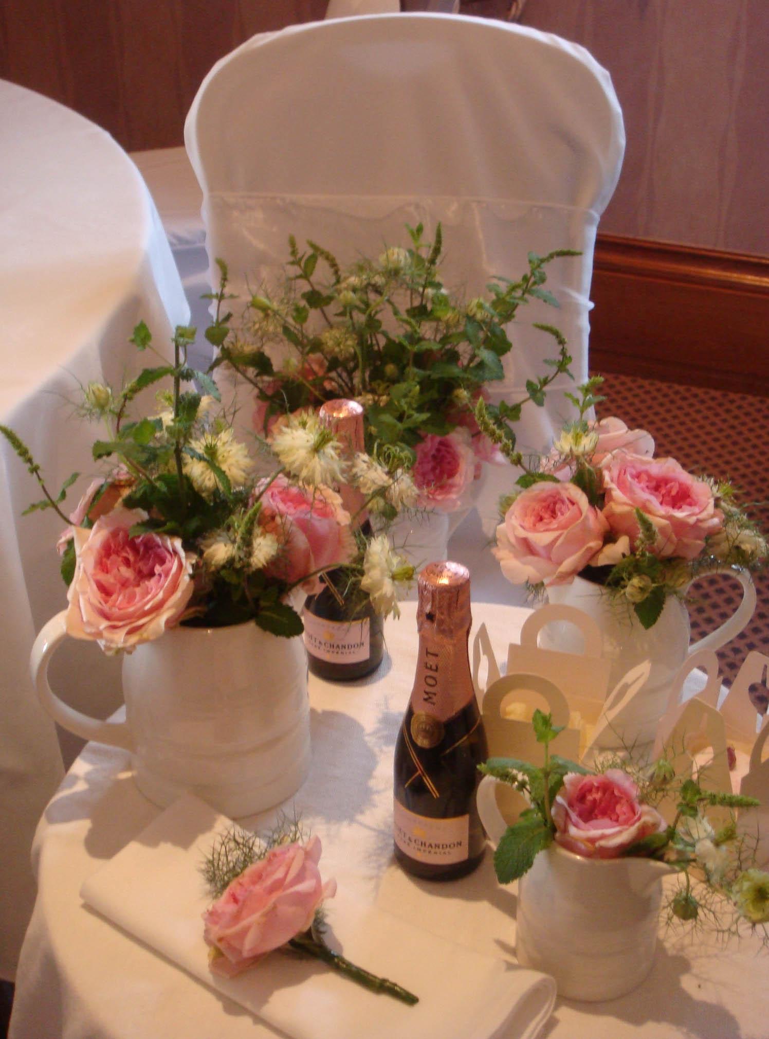 wedding flowers herbs