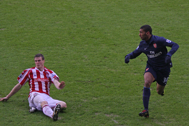 Stoke City FC V Arsenal 42